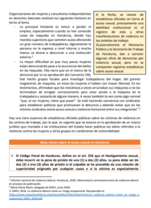 Lee más sobre el artículo Acoso sexual laboral en Honduras
